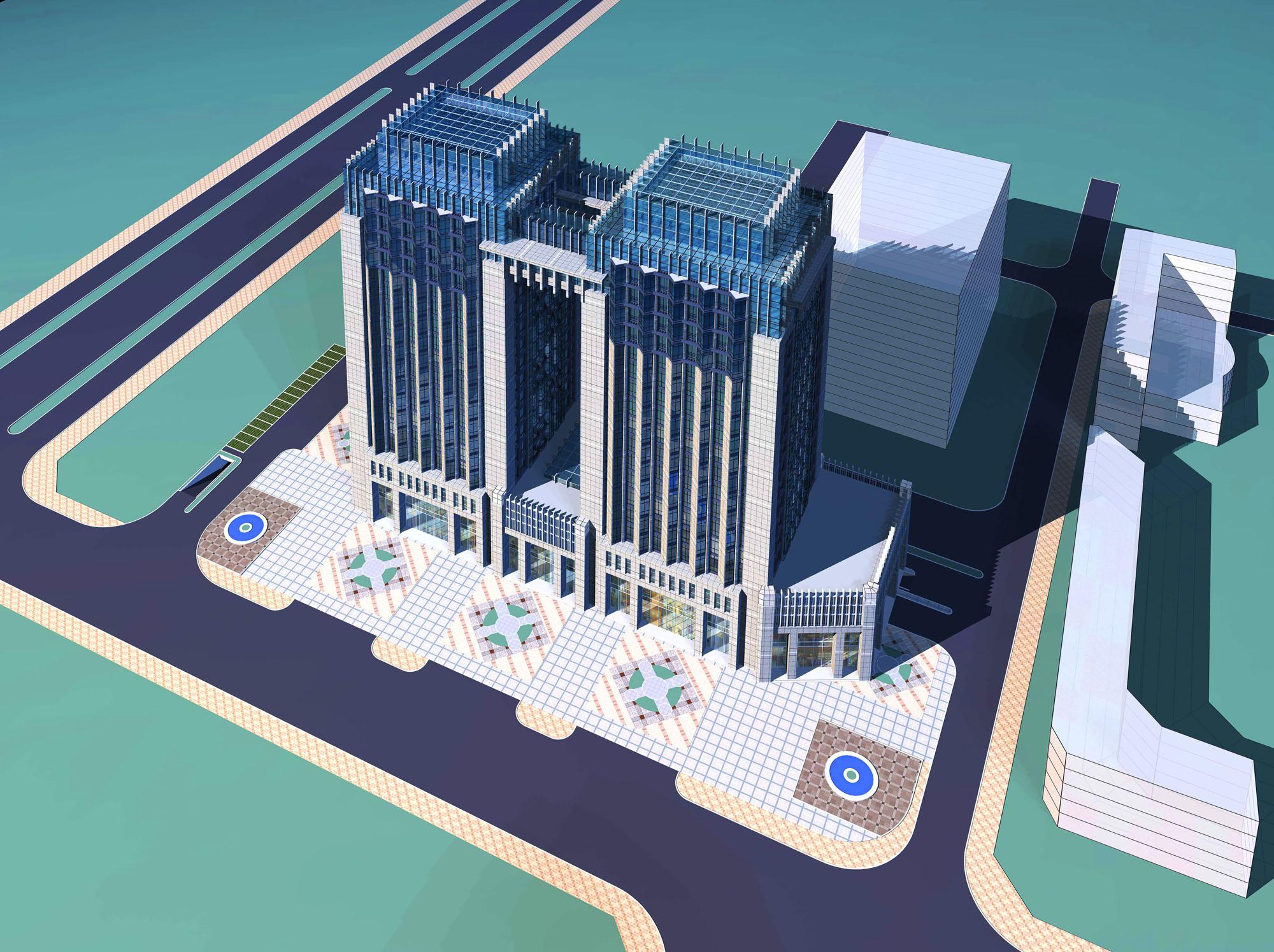 architecture 2472 3d model max 143830