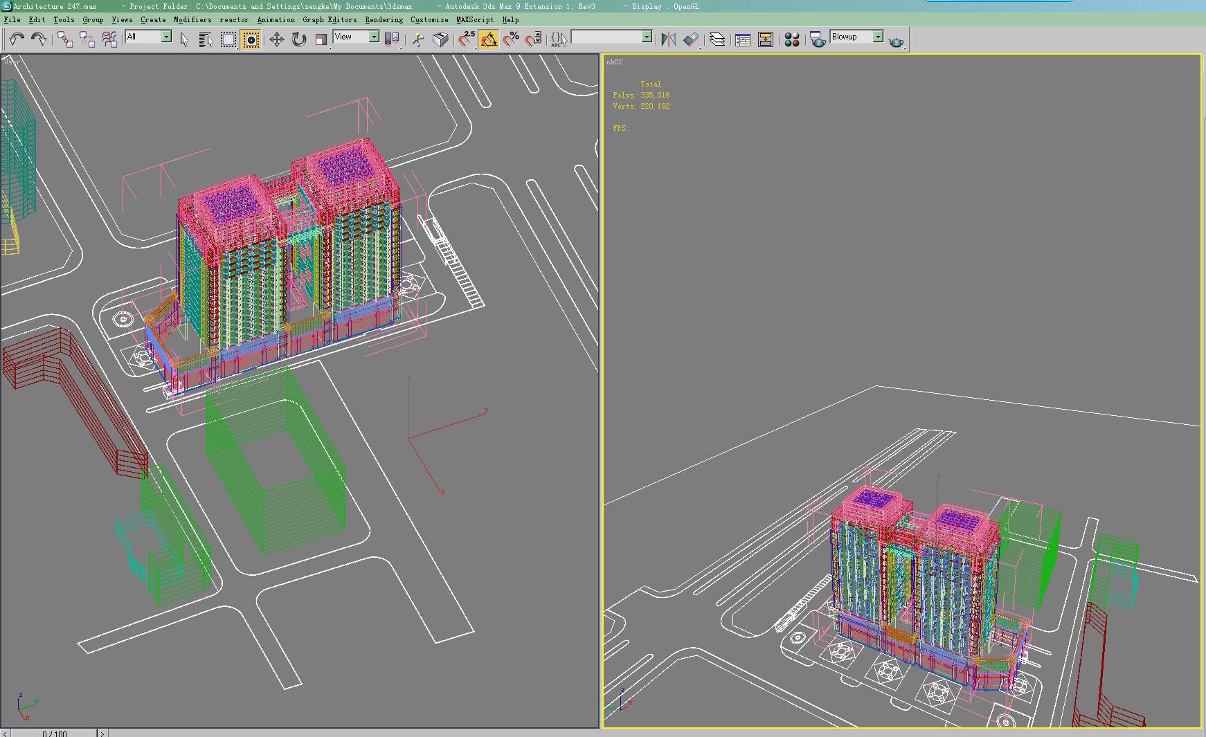 architecture 2472 3d model max 143831
