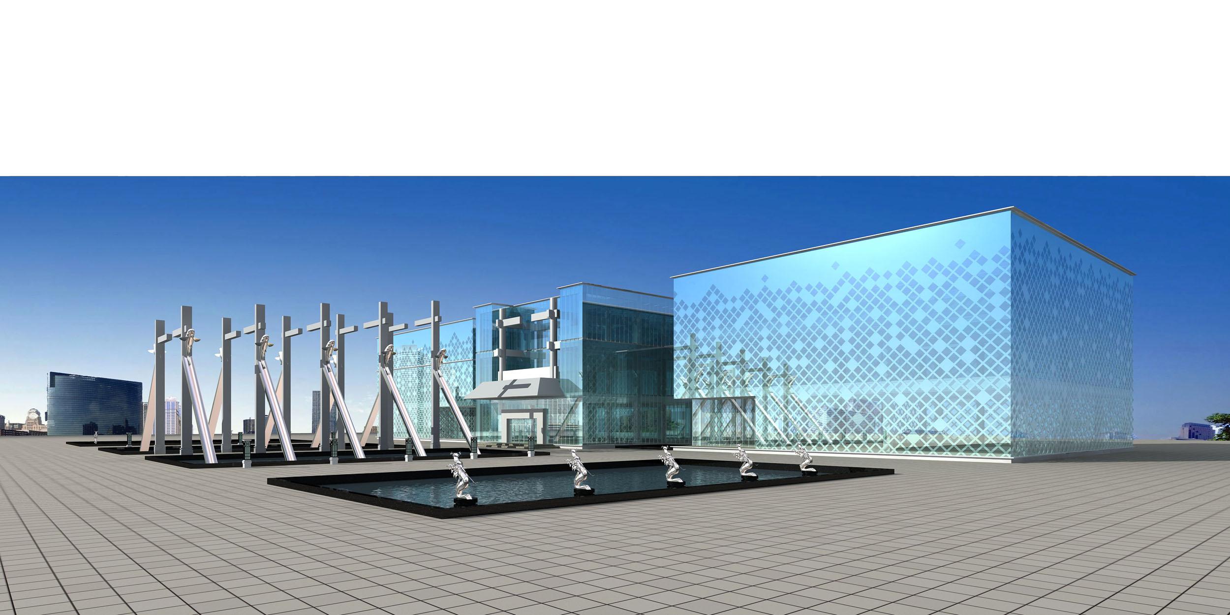 architecture 253 3d model max 143891