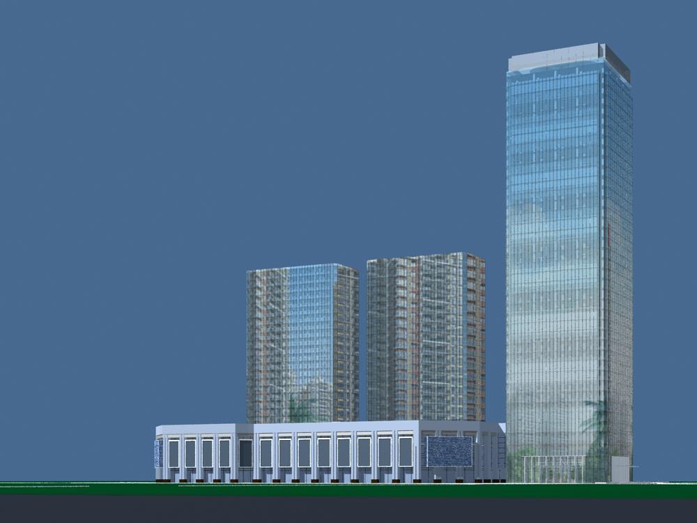 architektúra 3432 3d modell max 144406