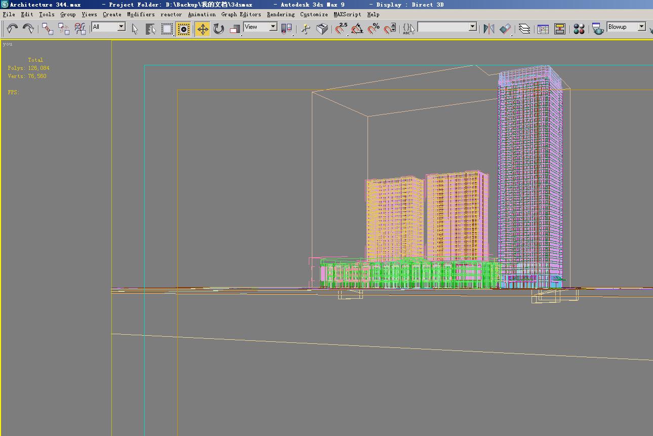 architektúra 3432 3d modell max 144407