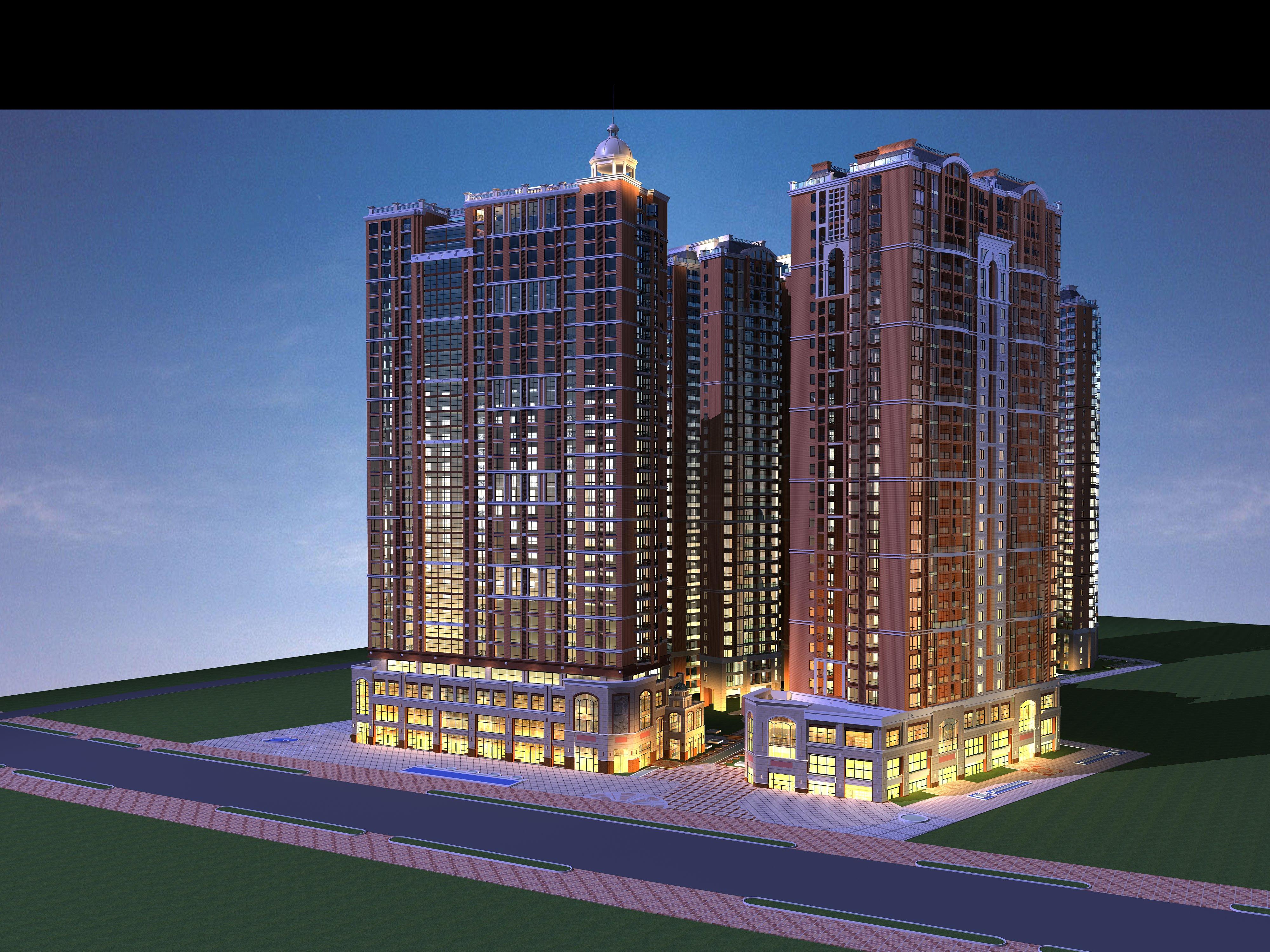 architecture 3822 3d model 3ds max 144702