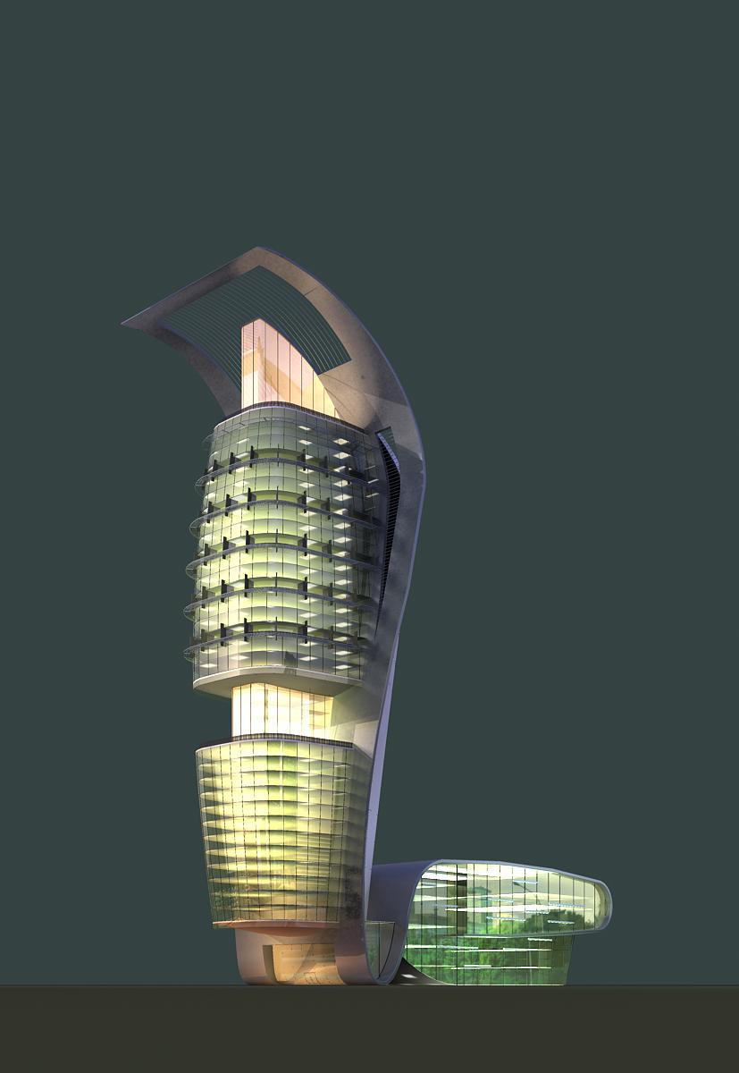 arkitektúr 394 3d líkan hámark 144737