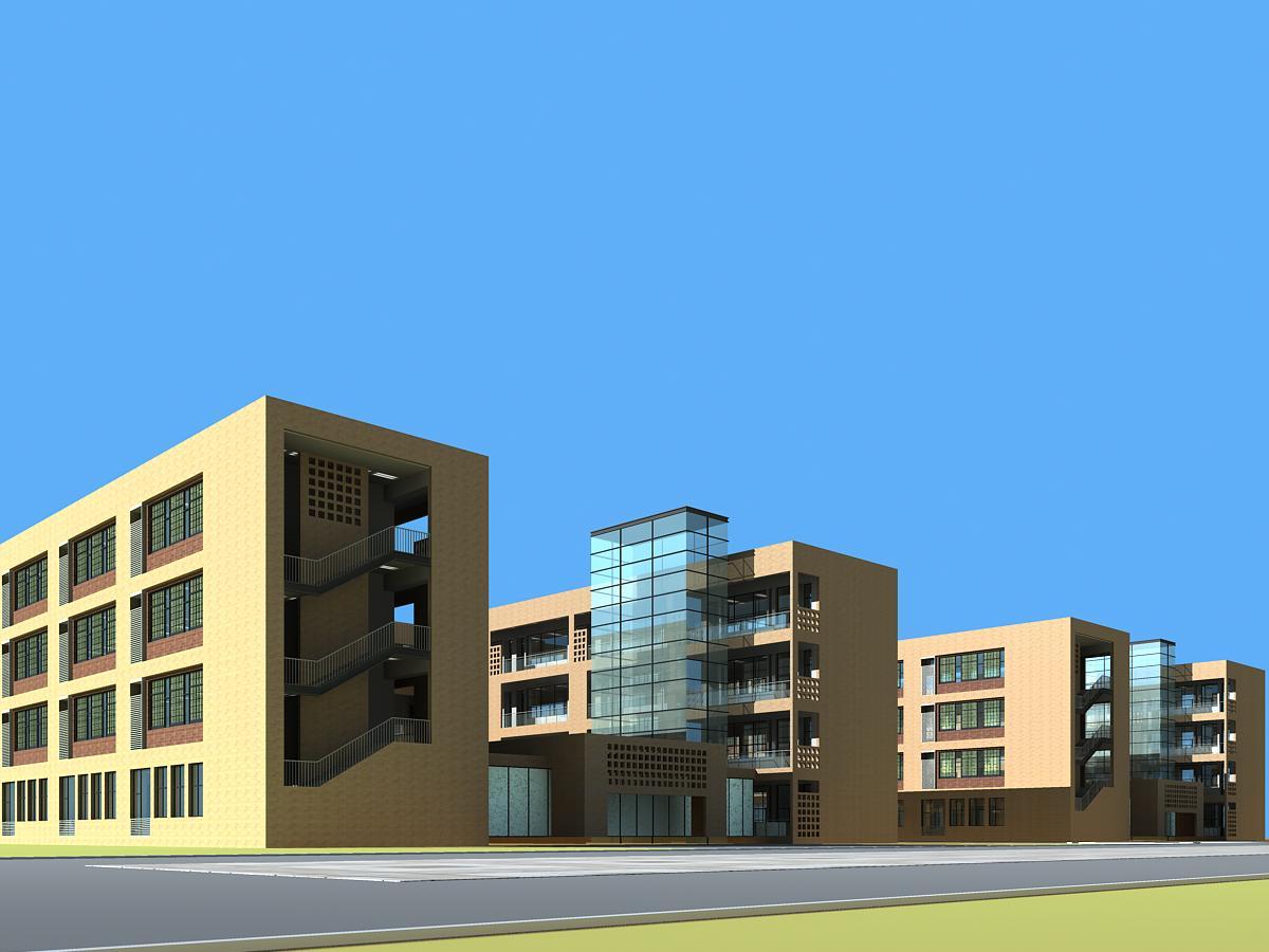 arkitektúr 406 3d líkan hámark 144792