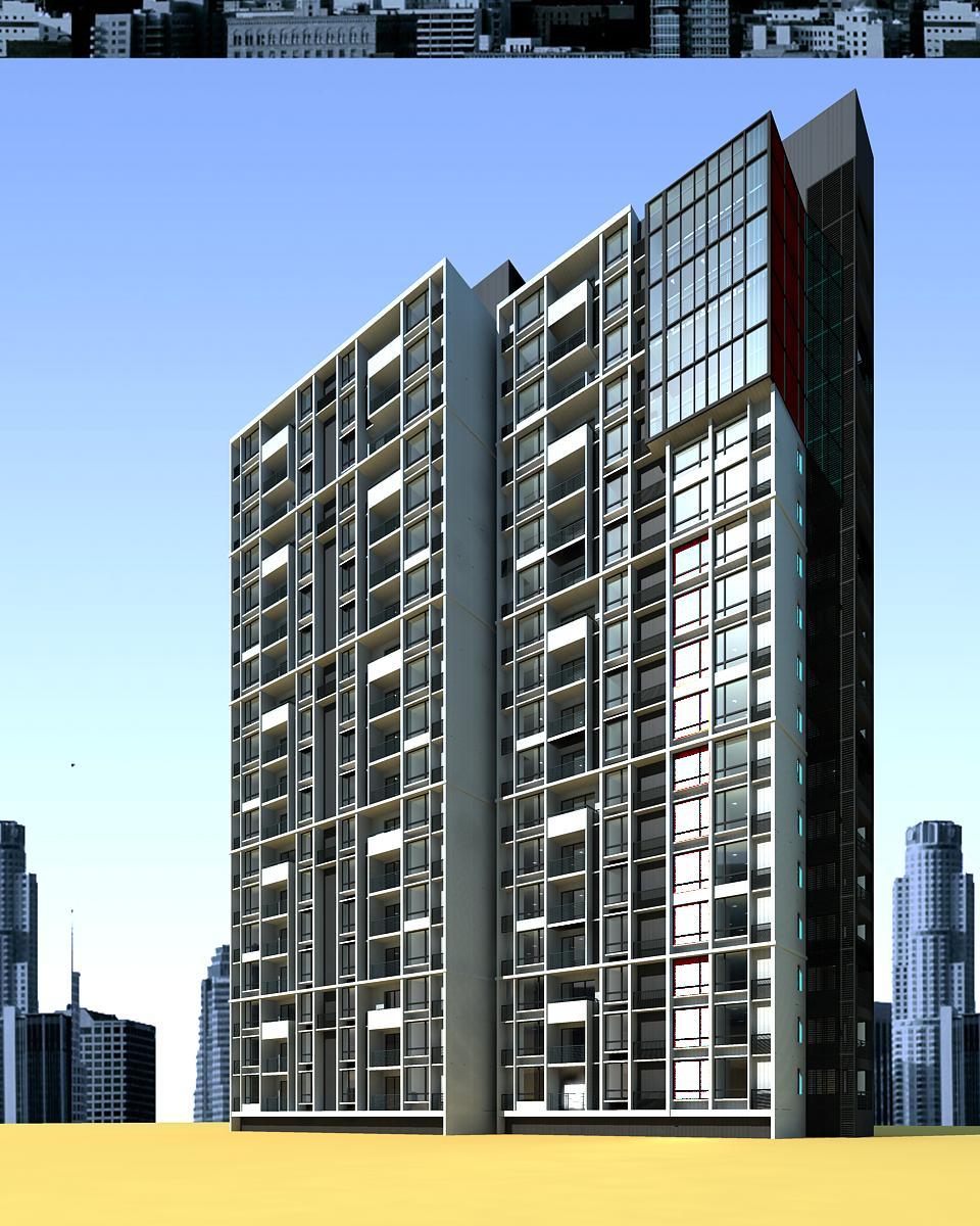 architecture 4082 3d model max 144804