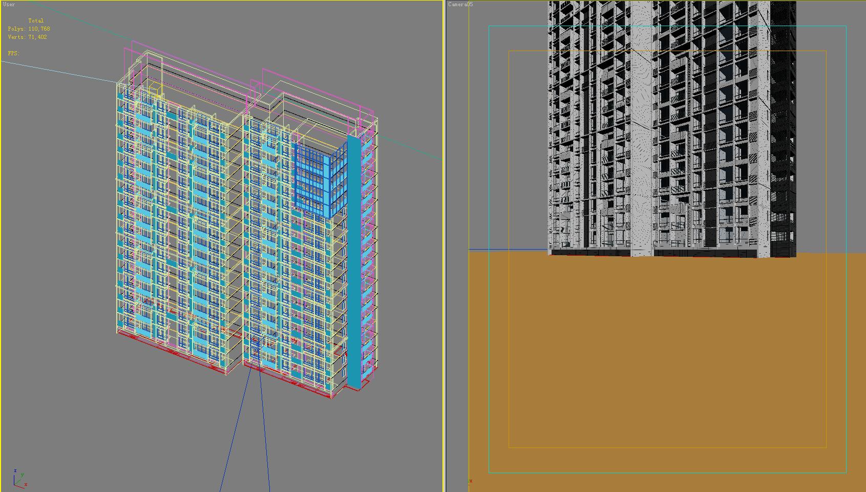 architektúra 4082 3d modell max 144805