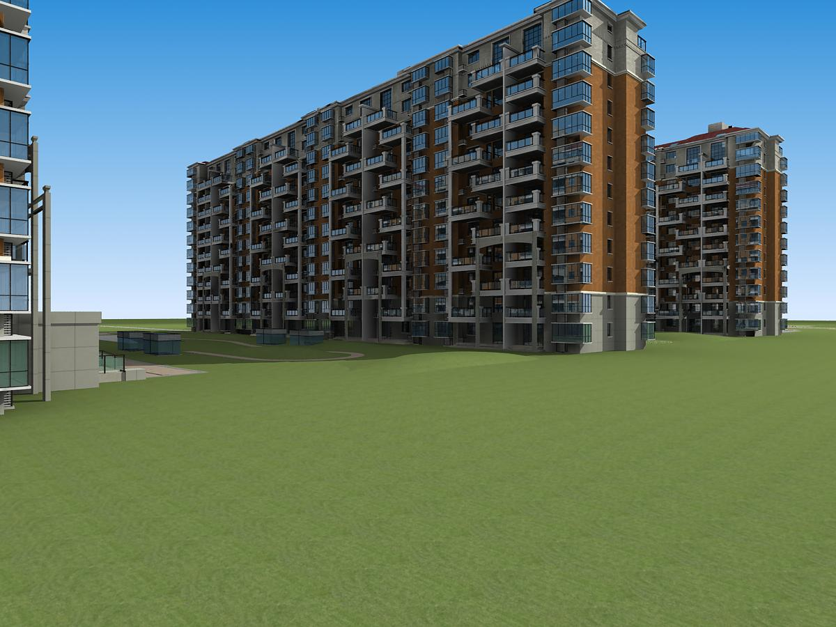 architektúra 5991 3d modell 3ds max 145920