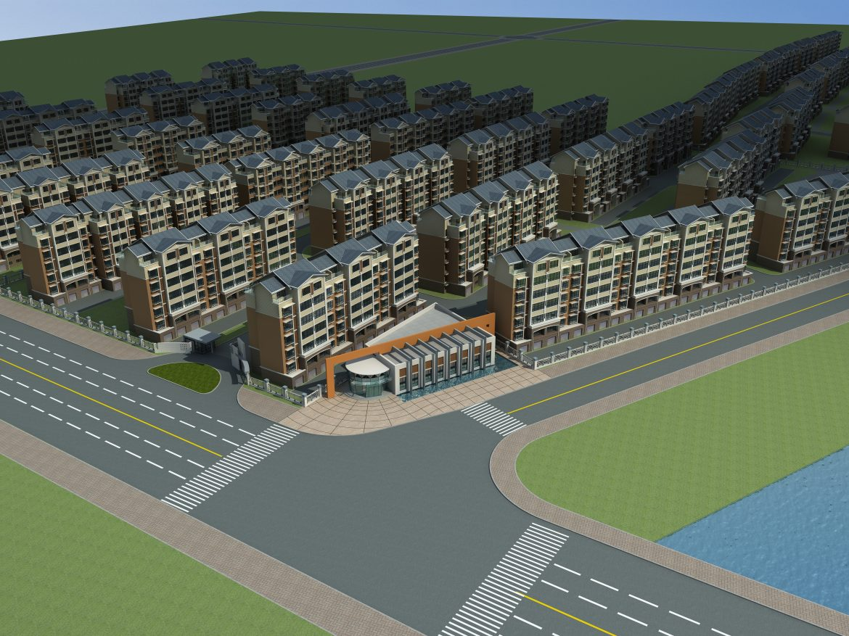architektúra 600 3d modell 3ds max 145923