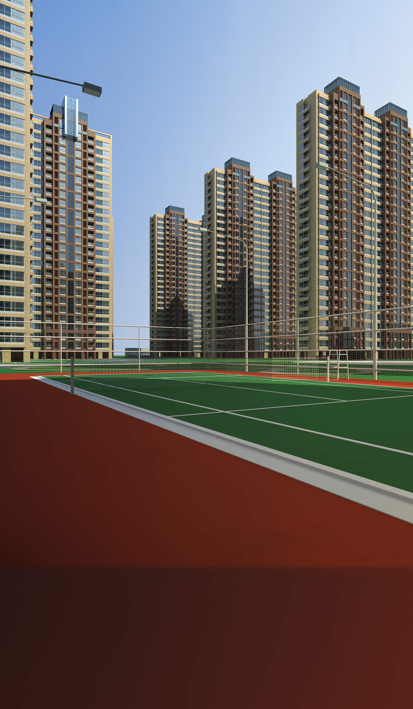 architecture 655 3d model max 146659