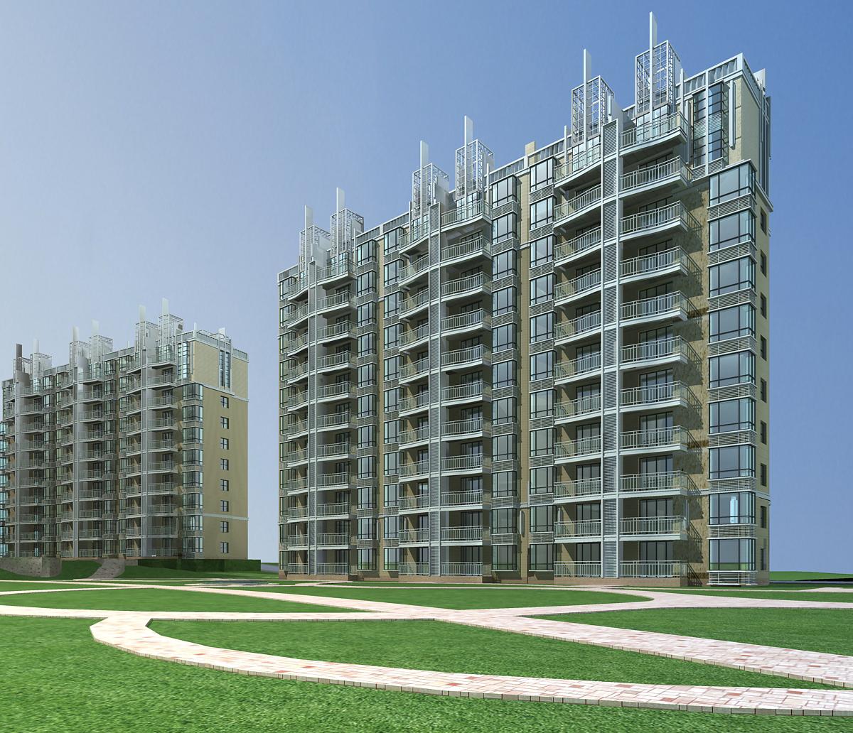 architecture 656 3d model 3ds max 146663