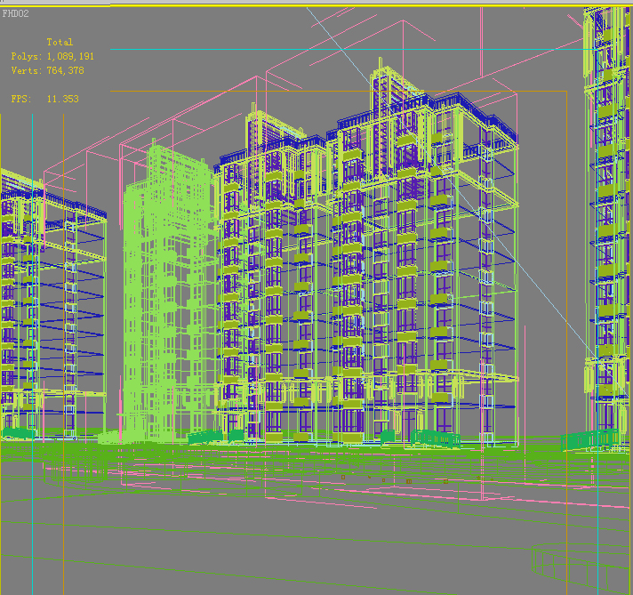 architecture 656 3d model 3ds max 146664