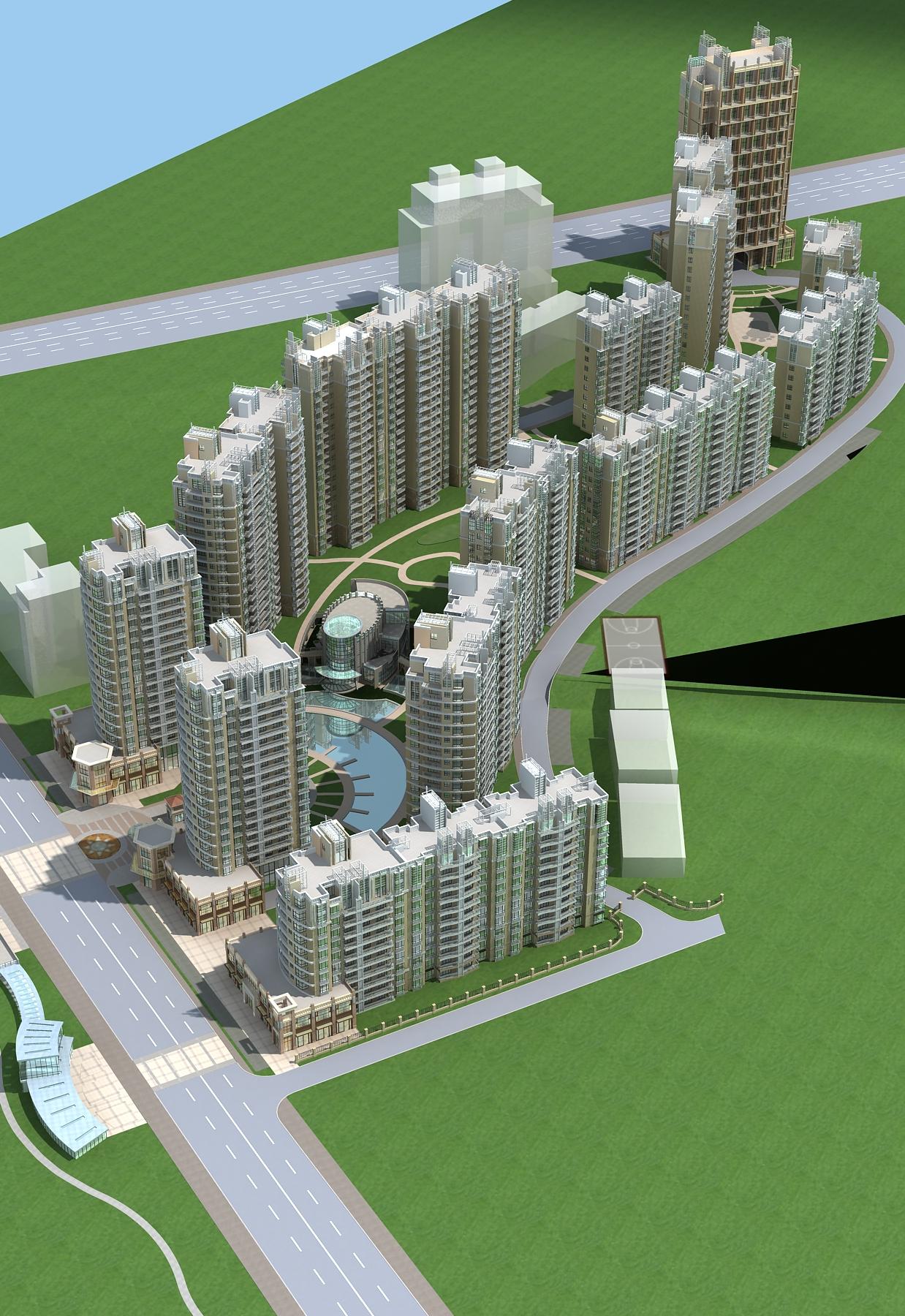 architecture 658 3d model 3ds max 146667