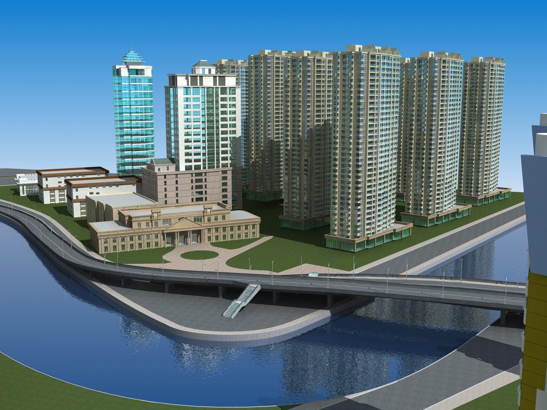 architecture 659 3d model 3ds max 146669