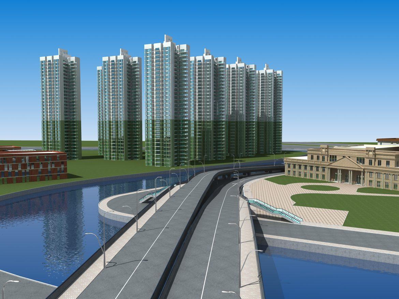 architecture 659 3d model 3ds max 146670