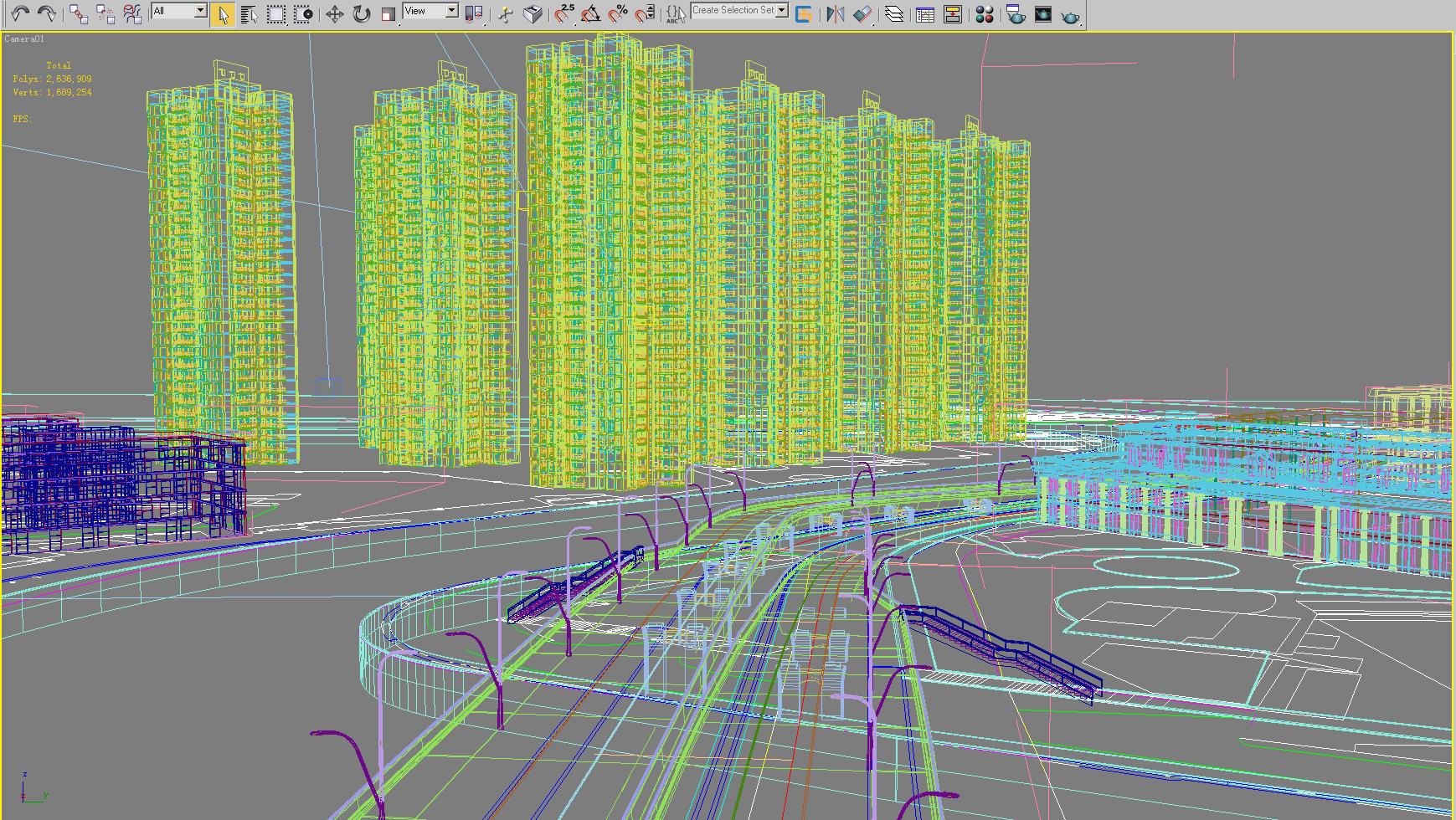 architecture 659 3d model 3ds max 146673