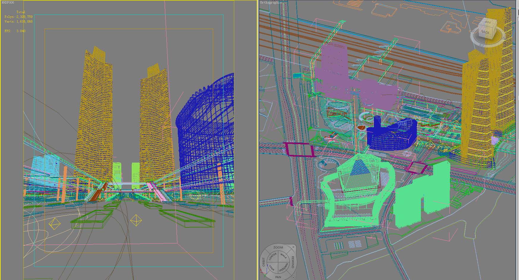 architecture 663 3d model 3ds max 146682