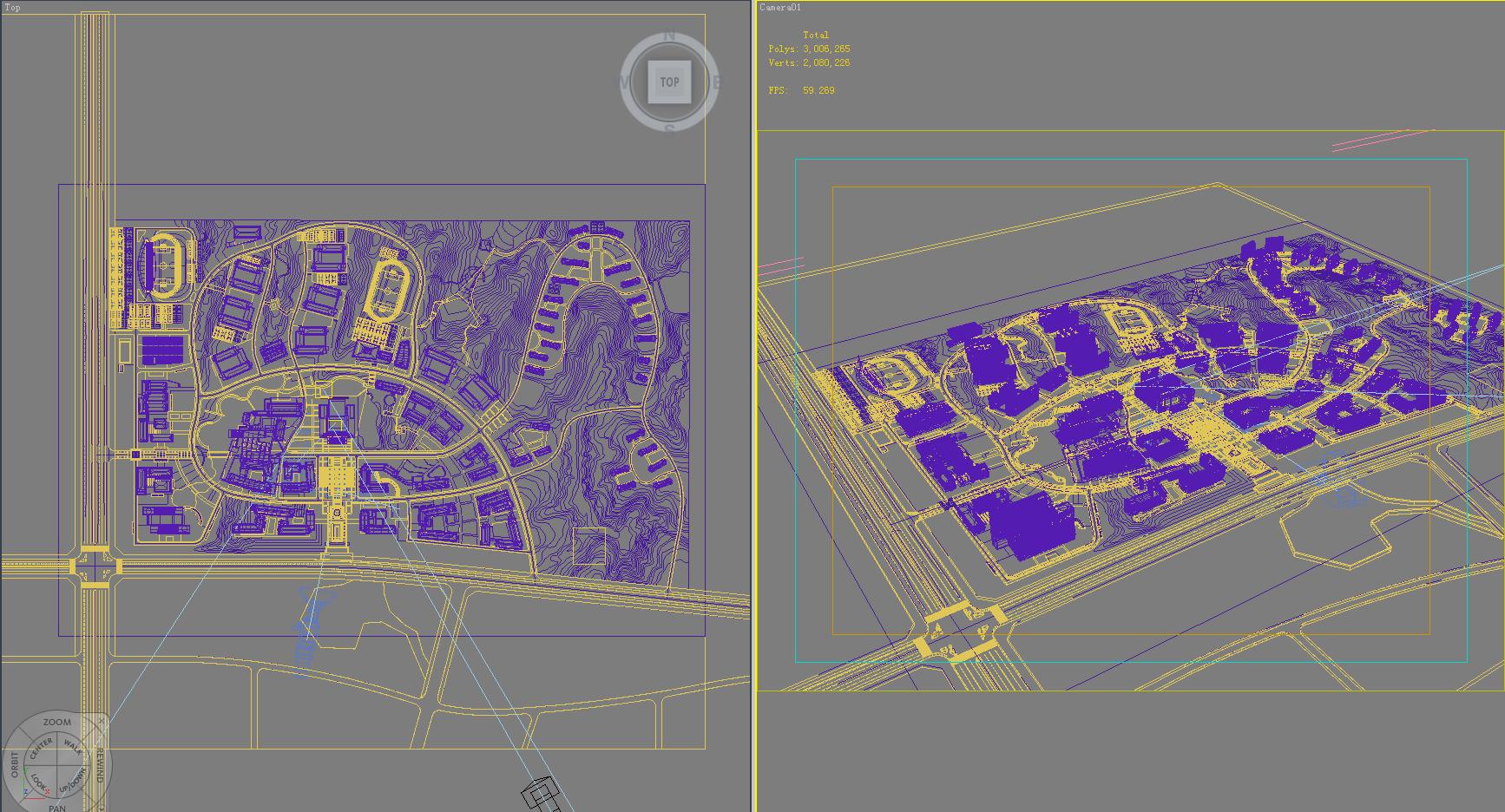 architecture 664 3d model 3ds max 146686
