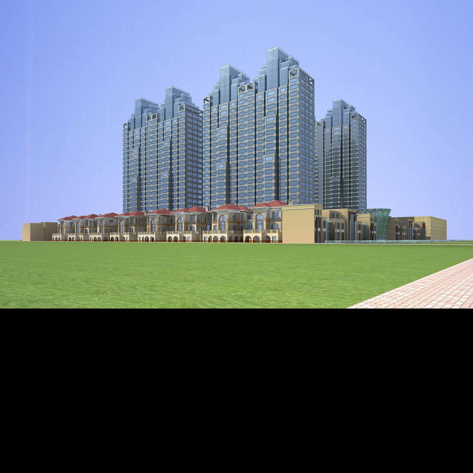 architecture 665 3d model 3ds max 146690