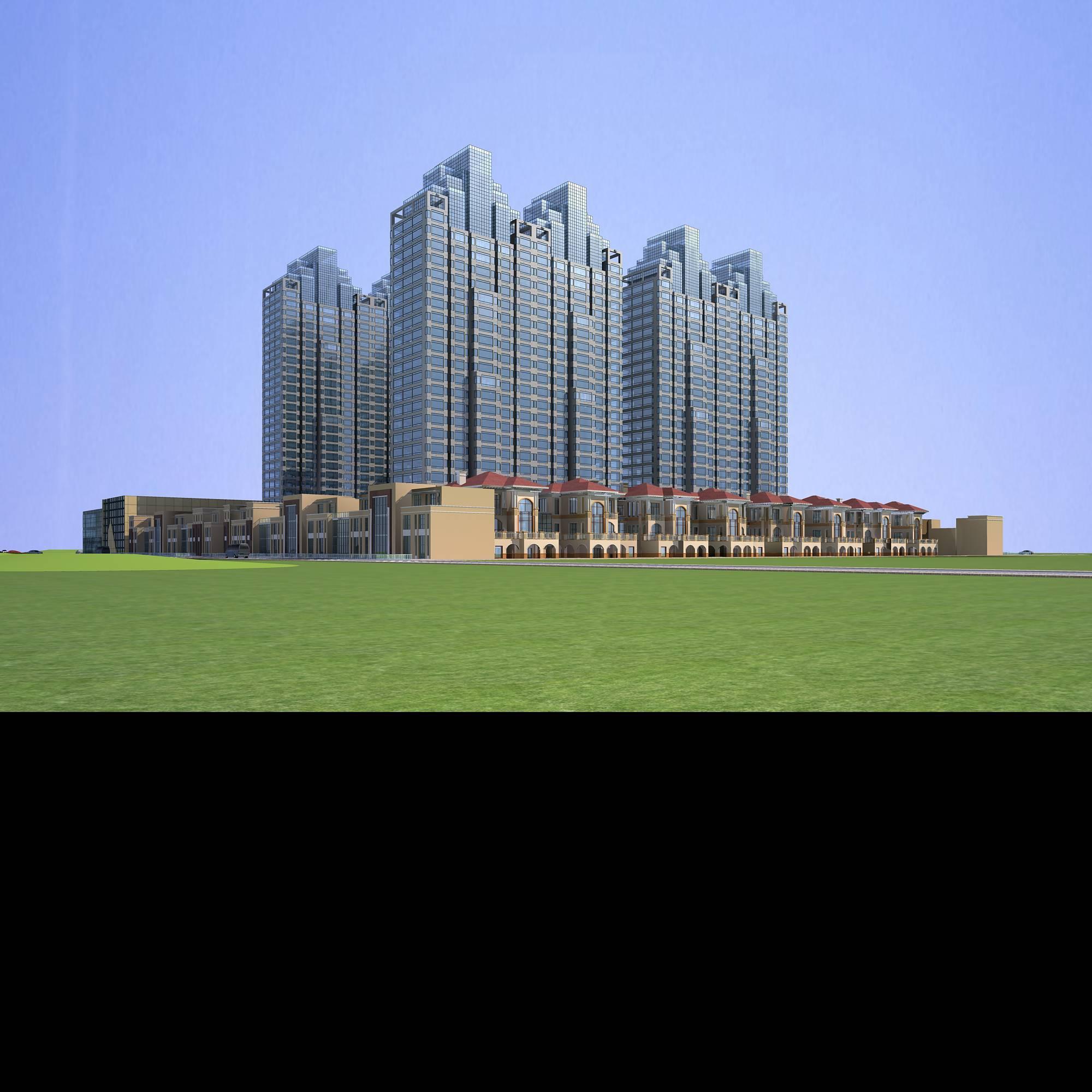 architecture 665 3d model 3ds max 146691