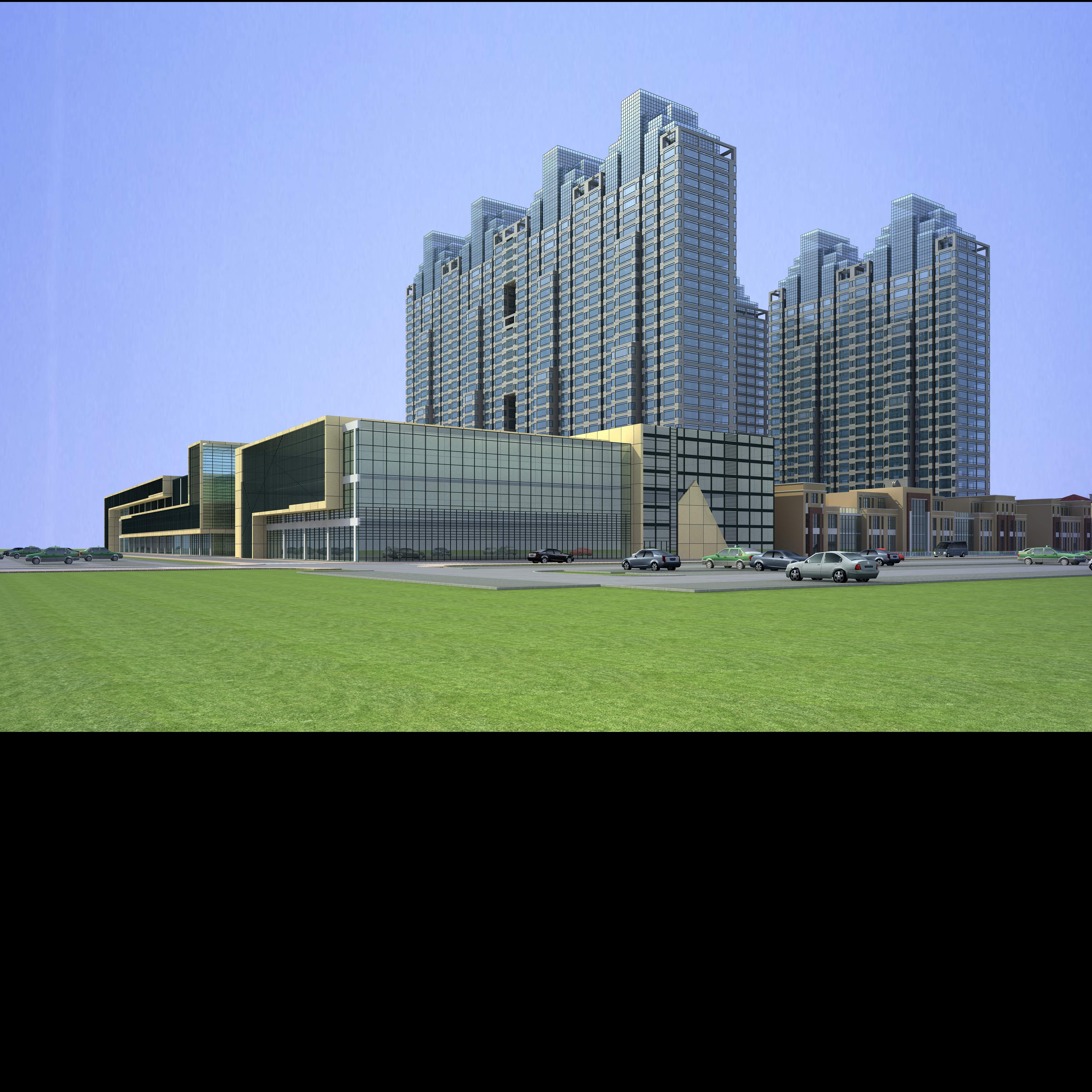 architecture 665 3d model 3ds max 146692