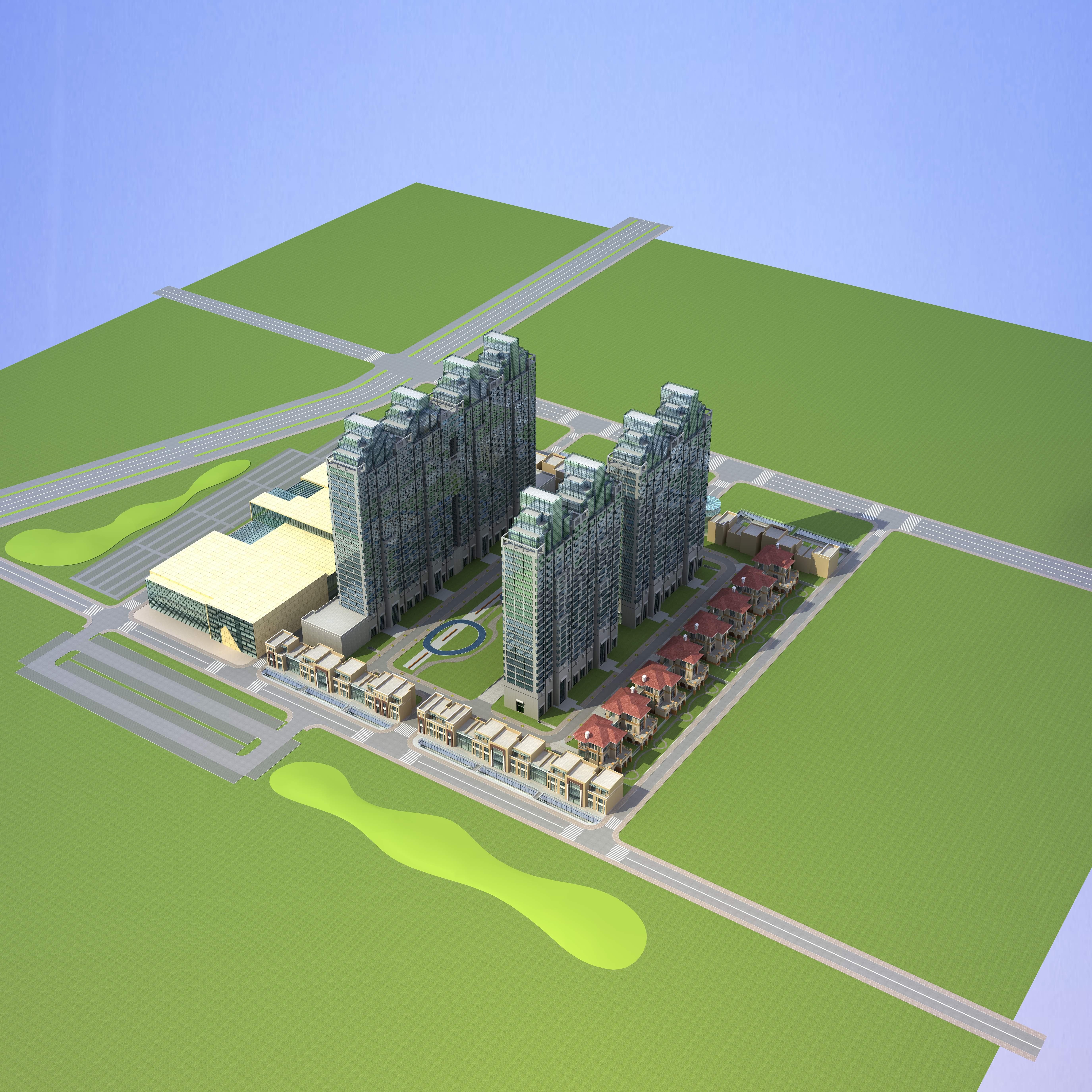 architecture 665 3d model 3ds max 146694
