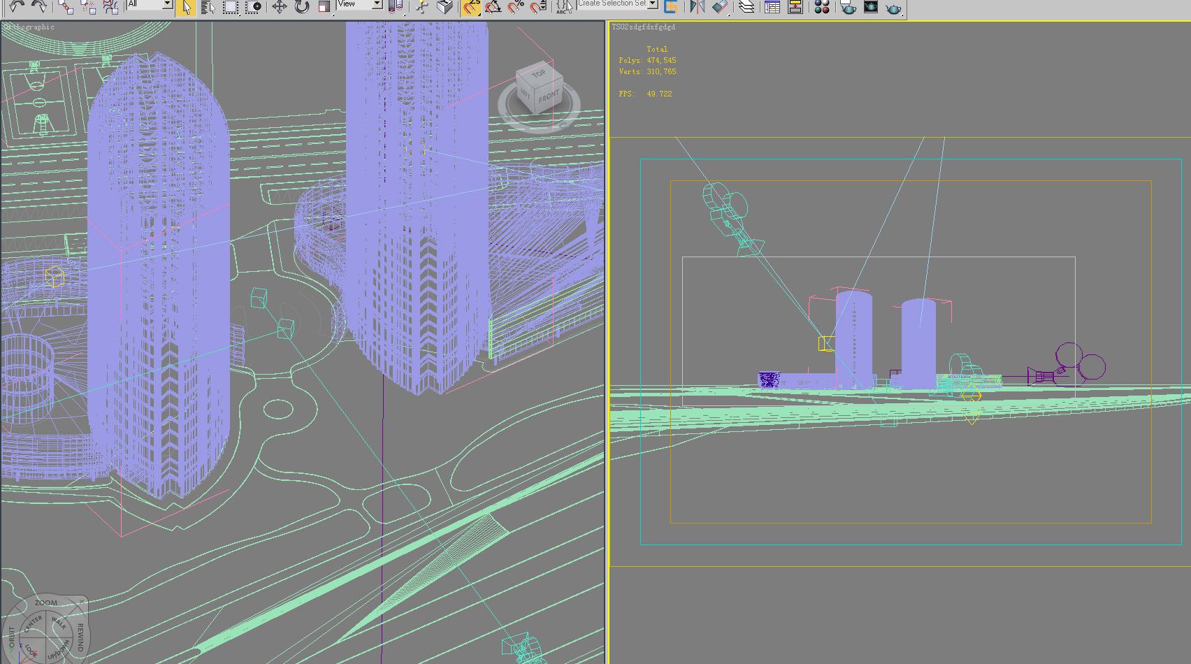 architecture 666 3d model 3ds max 146700