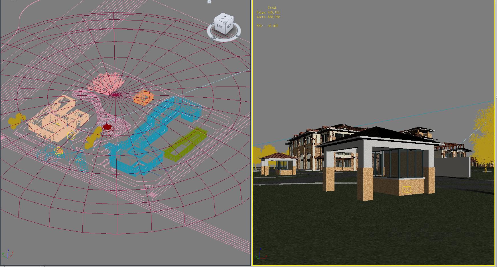 architecture 667 3d model 3ds max 146702