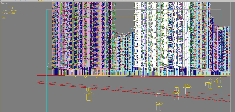 architecture 669 3d model 3ds max 146707