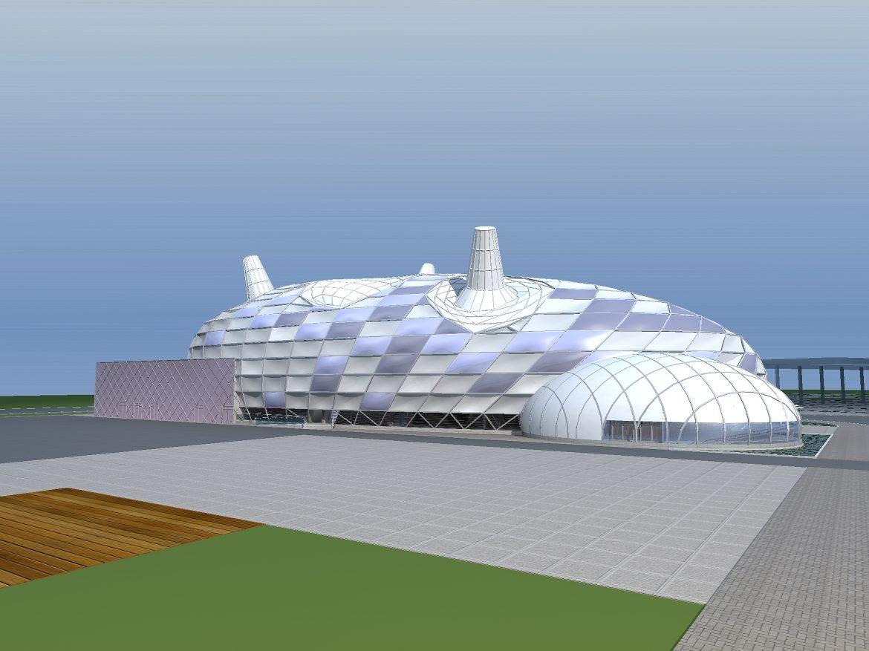architecture 671 3d model 3ds max 146710