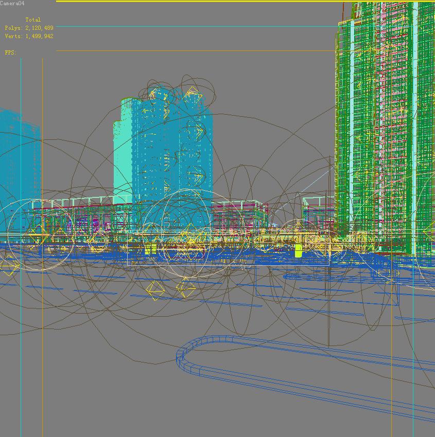 architecture 672 3d model 3ds max 146712