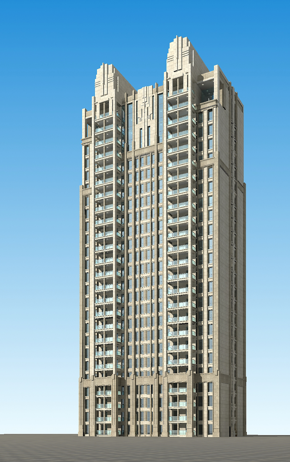 architecture 684 3d model 3ds max 146737