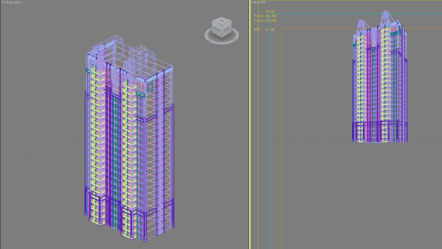 architecture 684 3d model 3ds max 146738