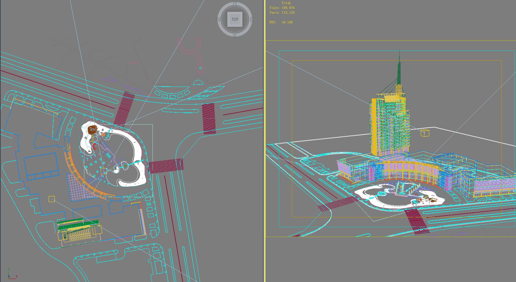 architecture 688 3d model 3ds max 146750
