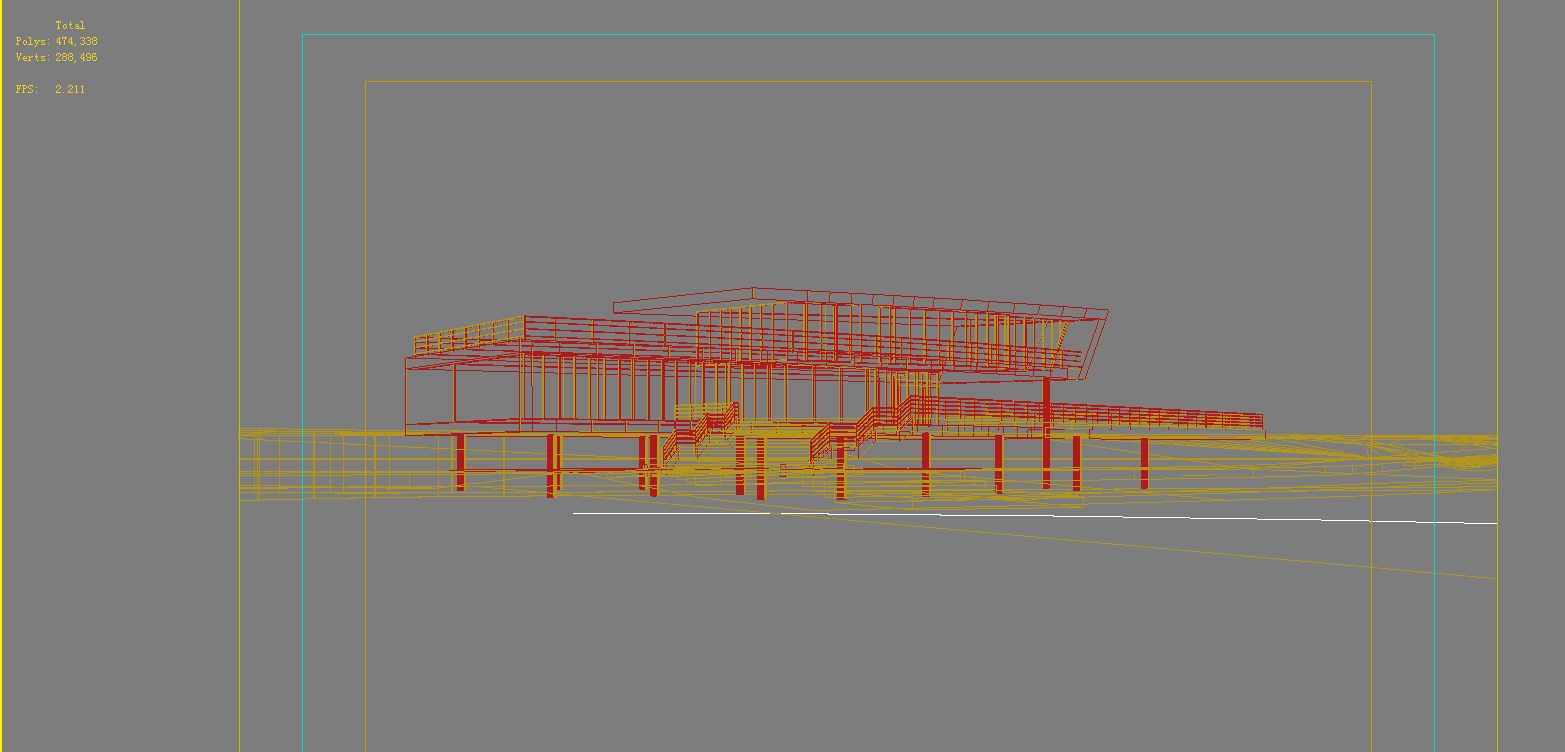 architecture 694 3d model 3ds max 146762