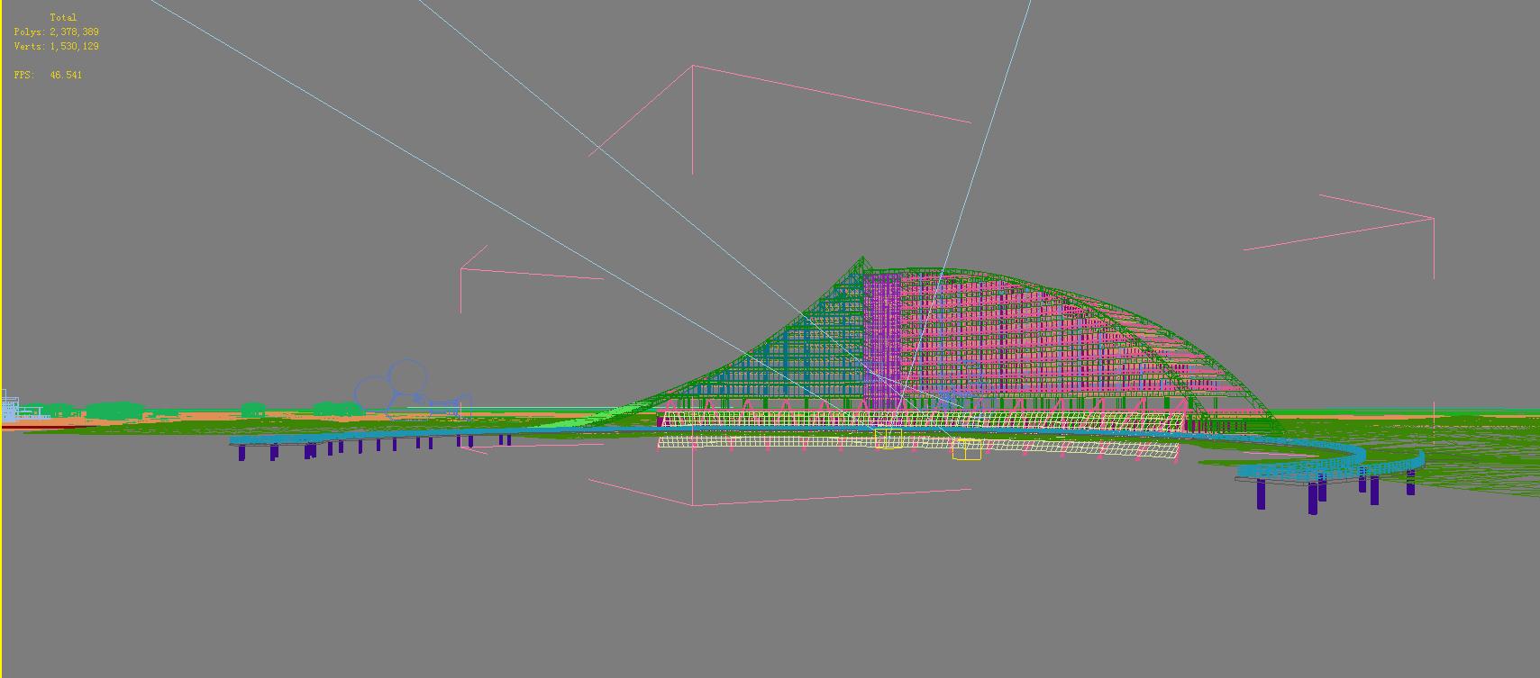 architecture 695 3d model 3ds max 146767