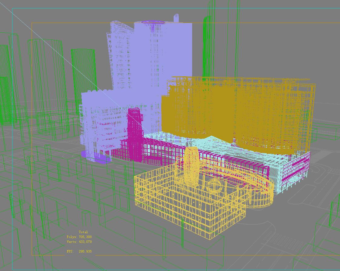 architecture 723 3d model max 146898