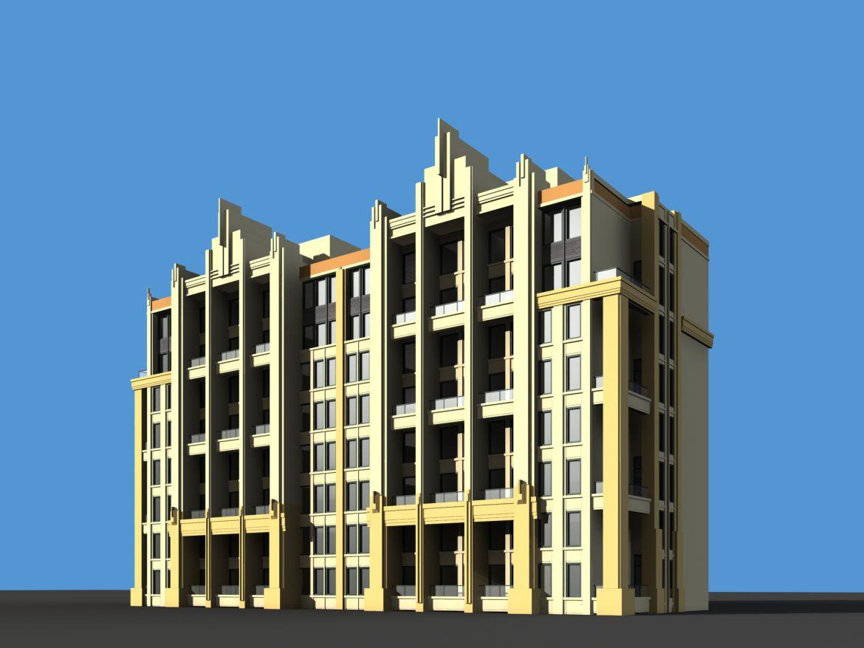 architecture 724 3d model max 146899