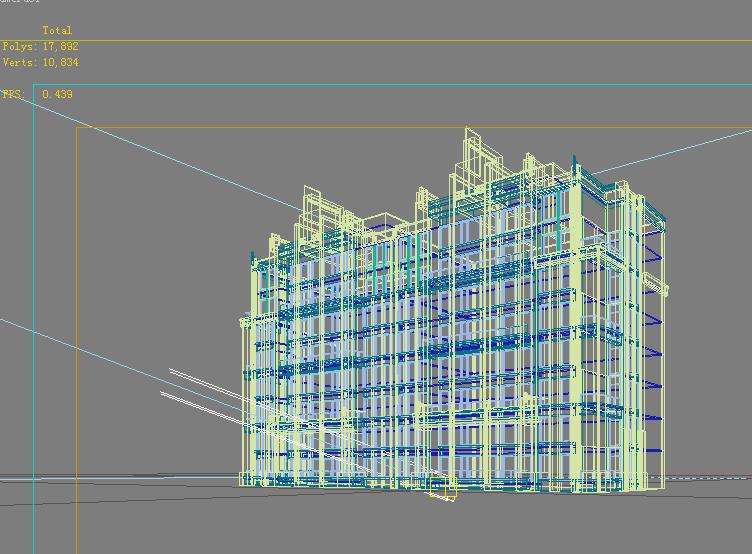 architecture 724 3d model max 146900