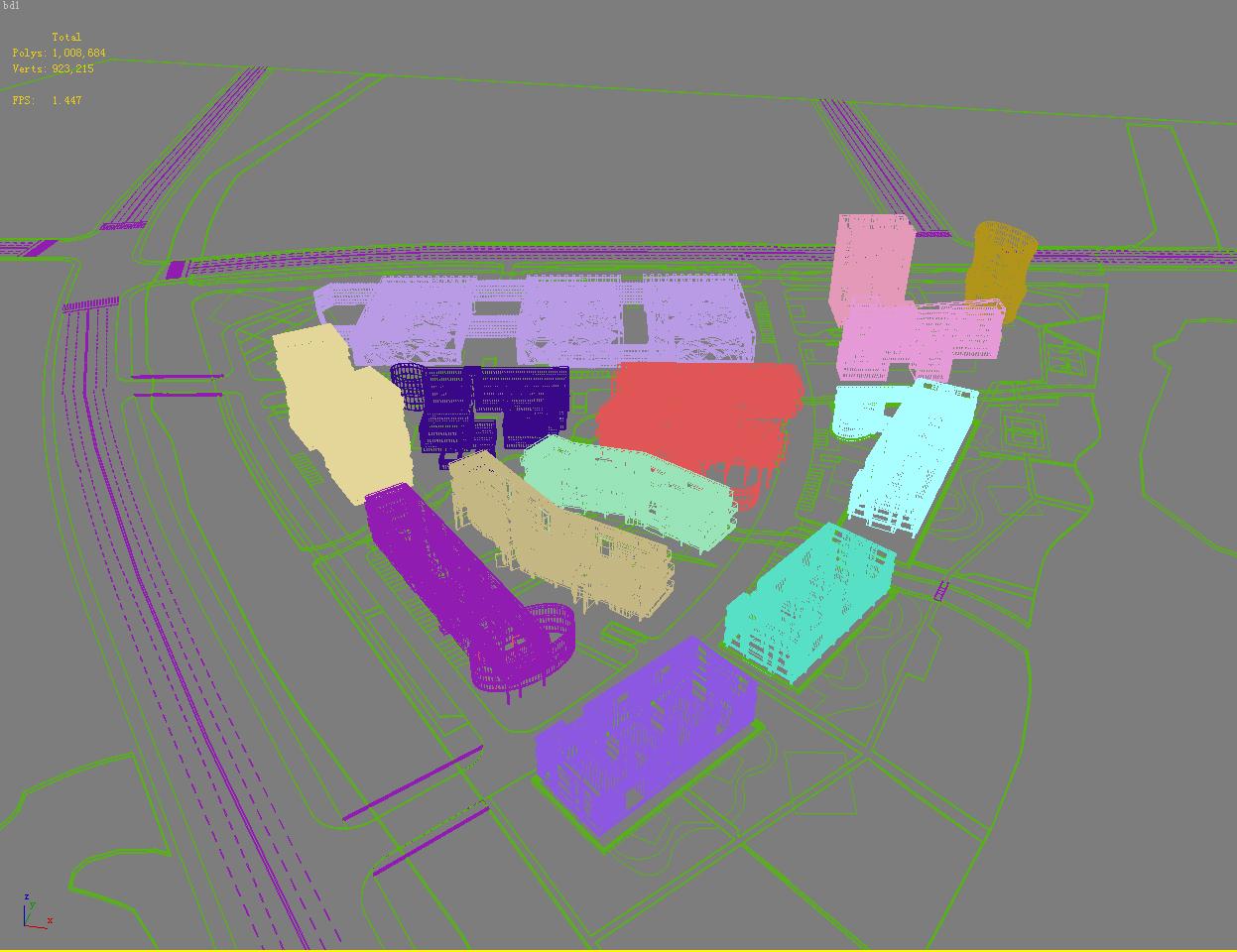 architecture 726 3d model max 146820