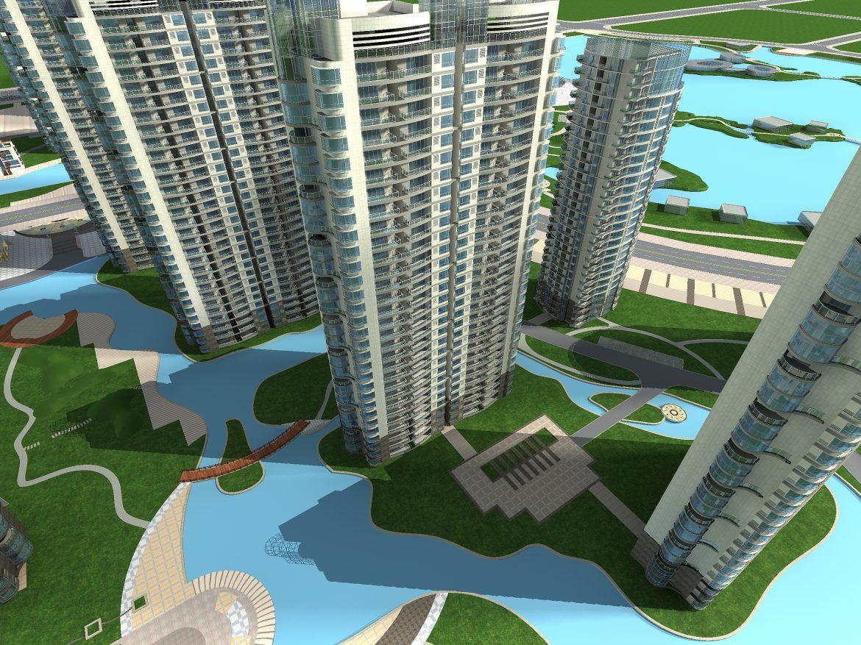 architecture 727 3d model max 146829