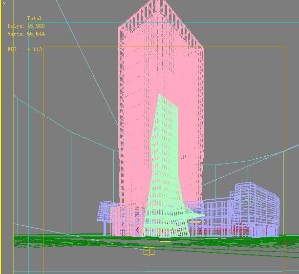architecture 728 3d model max 146832