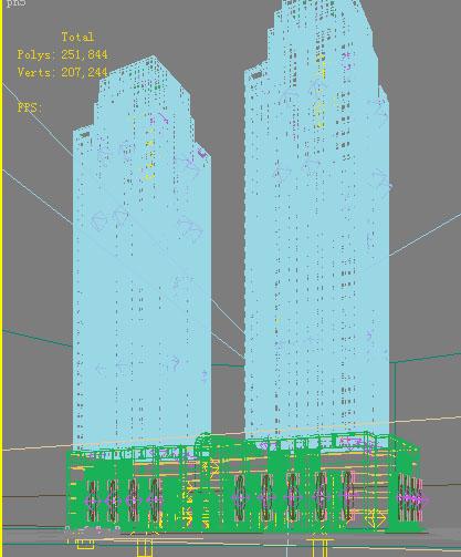 architecture 730 3d model max 146877