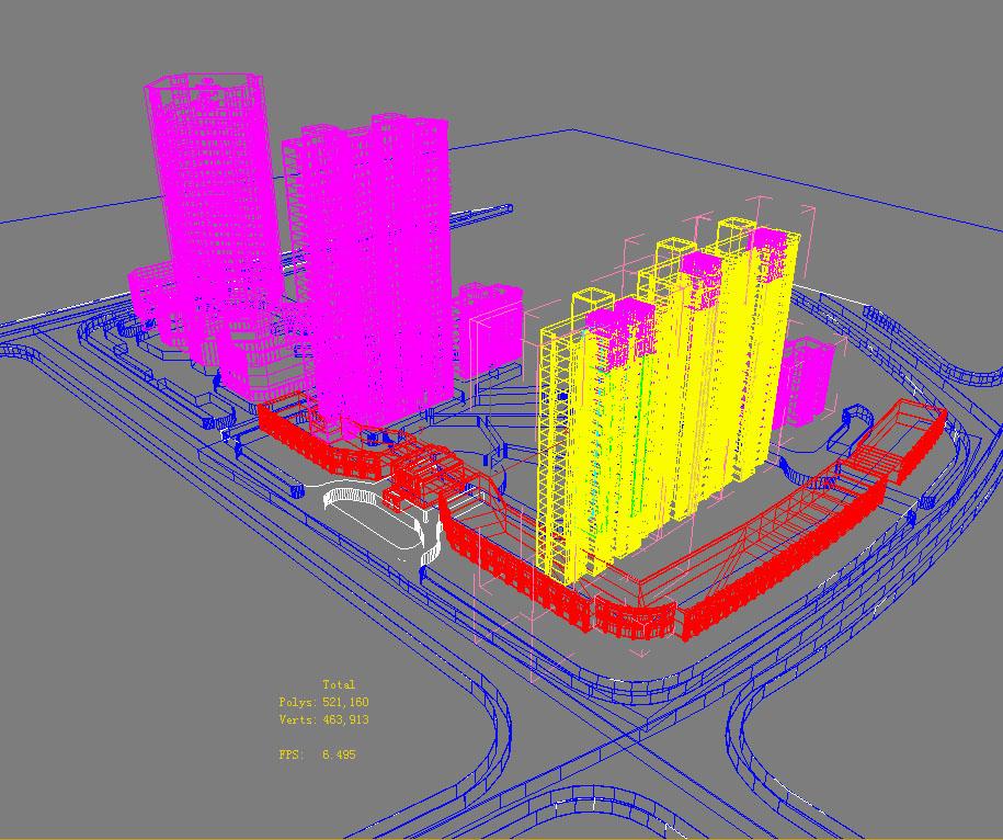 architecture 733 3d model max 146885