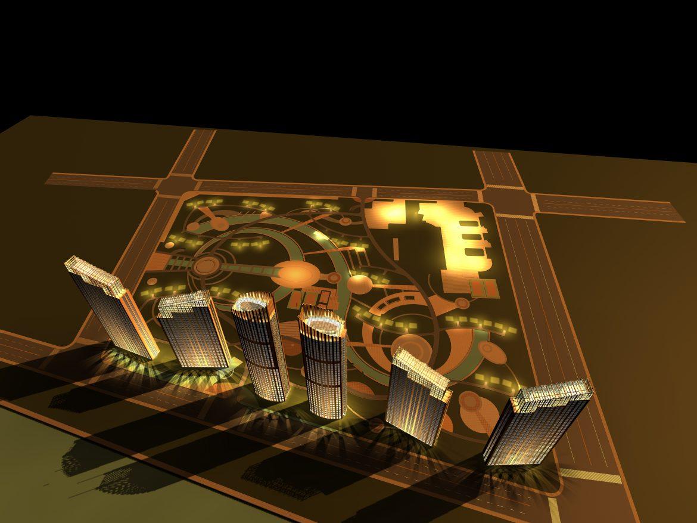 architecture 734 3d model max 146886