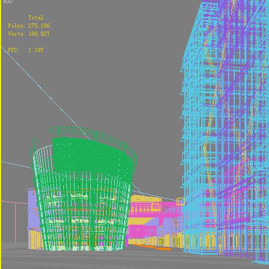 architecture 738 3d model max 146904
