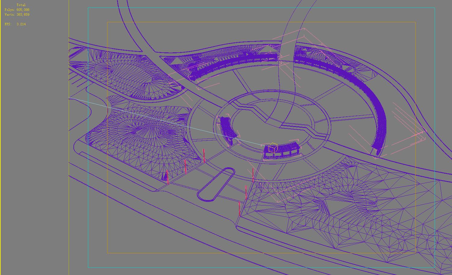architecture 742 3d model max 146913