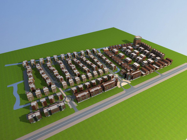 architecture 749 3d model max 146931