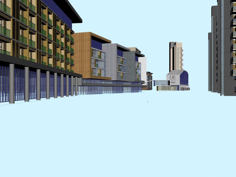 architecture 754 3d model max 146946