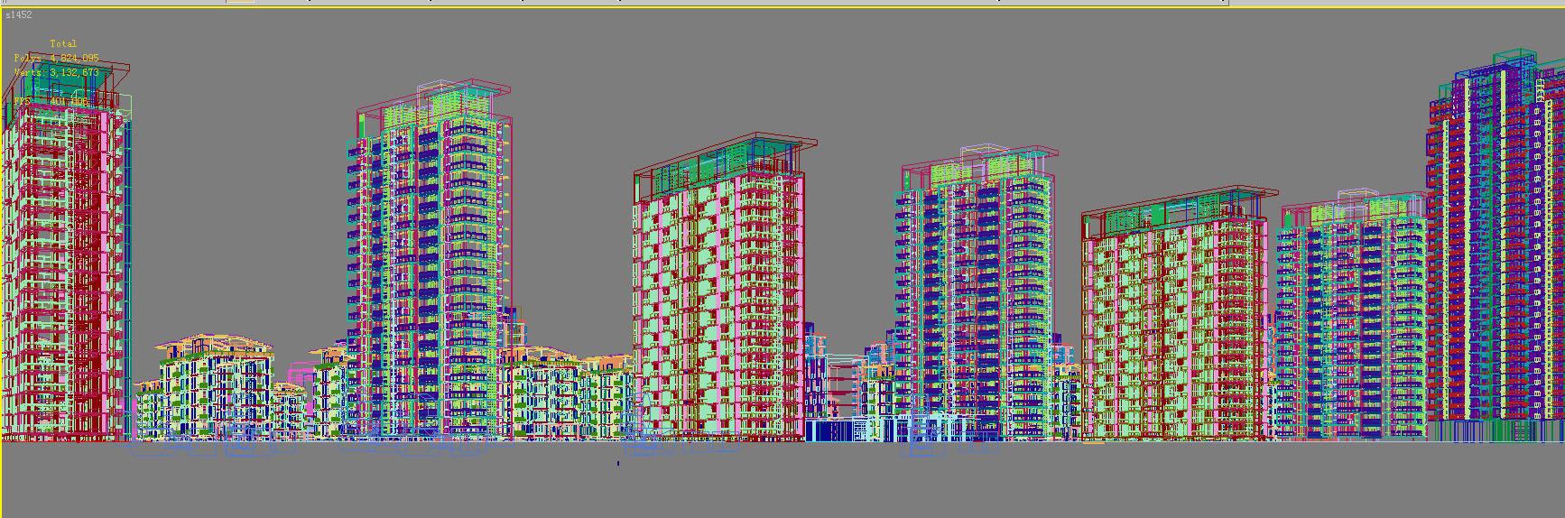 architecture 754 3d model max 146948