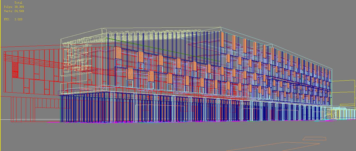 architecture 758 3d model max 146957